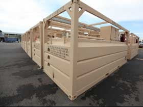 4000 Gallon ISO Containerized Fuel System