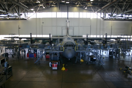 C-130 ISO stand