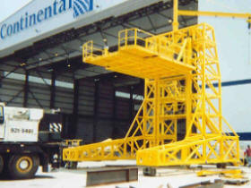 engine removal stand