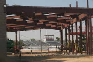 steel columns and beams