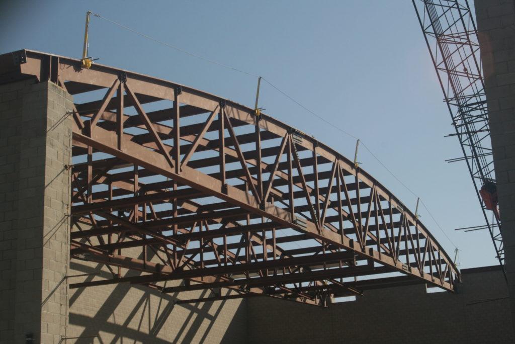 North High School Gym – Kern Steel Fabrication, Inc.